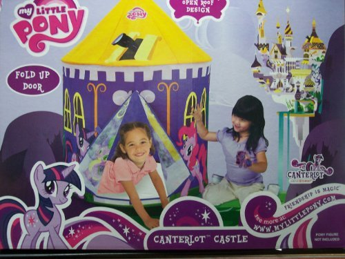 My Little Pony Juego Canterlot Castillo Carpa Casa