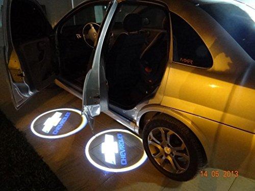 2 X 5Th Gen Car Door Shadow Laser Projector Logo Led Light For Chevrolet Chevy Aveo Camaro Caprice Captiva Celta Colorado Corvette Cruze Lacetti Lova Malibu Aveo Camaro Caprice Captiva Celta Colorado Corvette Cruze Lacetti Lova Malibu..