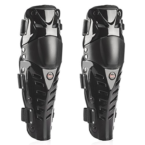 Tera-1-Pair-of-Adults-Fashion-Knee-Shin-Armor-Protect-Guard-Pads-Accessories-with-Plastic-Cement-Hook-for-Motorcycle-Motocross-Racing