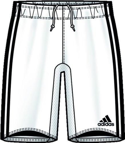 adidas Trofeo Short W/B weiss Gr.XL