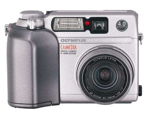 Olympus Camedia C-4000 4MP Digital Camera w/ 3x Optical Zoom