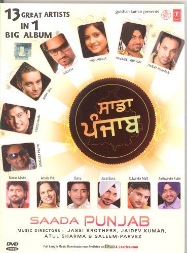 Saada Punjab (Punjabi Songs DVD / Regional Music / Indian Music / Bhangra)