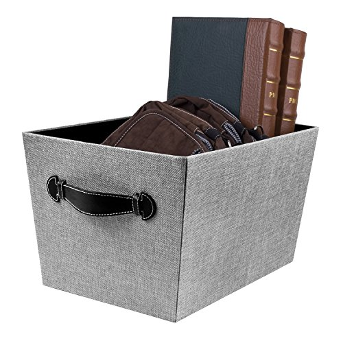 Decorative Boxes For Closets : Creative scents fabric decorative storage basket quot