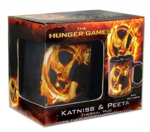 The Hunger Games - Merchandise (Thermal Coffee Mug - Katniss & Peeta) (Changing Image)
