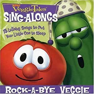 rock a bye veggie by veggietales 2007 audio cd music