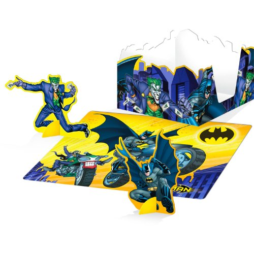 Hallmark Batman Brave and Bold Punch-Out Table Decorations