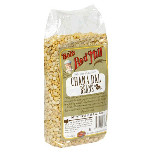 Bob's Red Mill Chana Dal Beans, 24-Ounce Packages (Pack of 4)