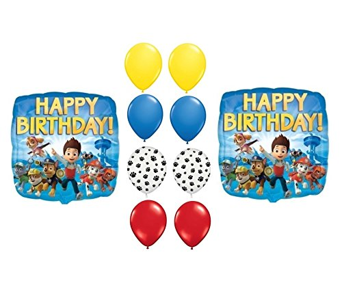 PAW Patrol Happy Birthday Balloons Supplies