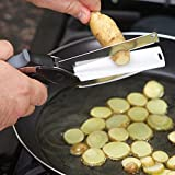 House of Quirk Clever Cutter - 2 in 1 Kitchen Knife with Chopping Board To Replace All Your Kitchen Knives Vegetable Cutter