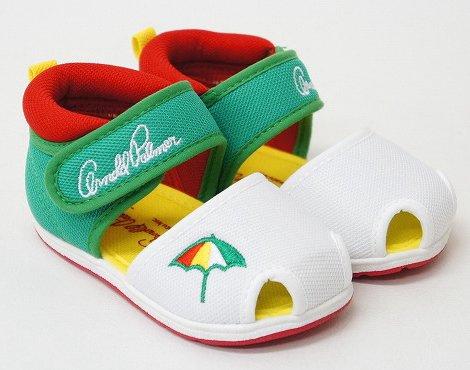 Arnold Palmer shoes baby shoe sandal ap4180 (13.5 cm, green)