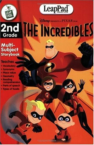 LeapFrog LeapPad Educational Book: The Incredibles