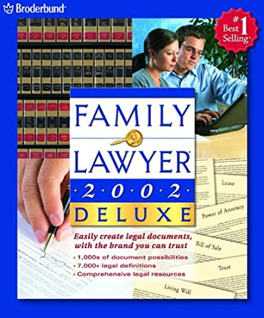 Family Lawyer 2002 Deluxe