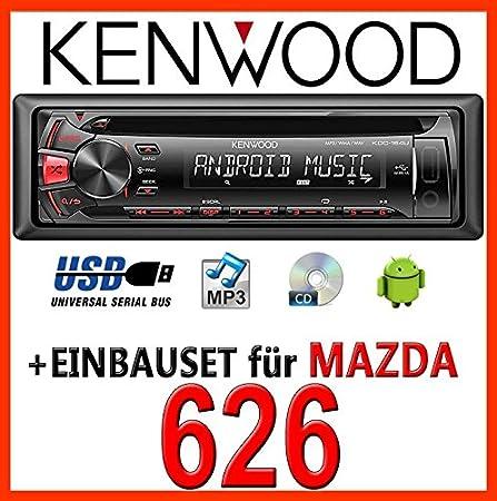 Mazda 626 kenwood kDC - 164 uR autoradio cD/mP3/uSB avec kit de montage