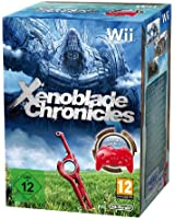 Manette classique Wii rouge + Xenoblade chronicles