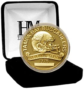 NFL Tampa Bay Buccaneers 2012 Gold Game Coin by Highland Mint