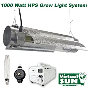 Virtual Sun VS1000TRMS HPS 1,000-Watt Cool Tube Grow Light System
