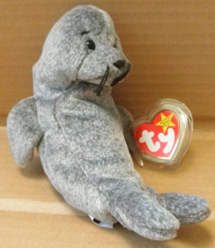 TY Beanie Babies Slippery the Seal Plush Toy Stuffed Animal by G35832784