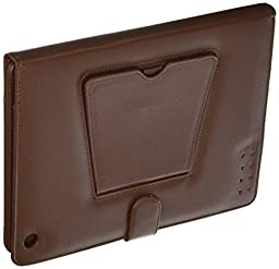 Natico Ipad Case With Detachable Keyboard, Brown (60-I180-BR)