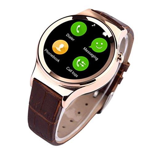 Lacaca Bluetooth smart vigilanza Card Phone Mate per Android Samsung Smartphone Oro