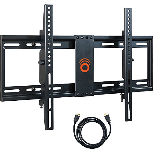 ECHOGEAR Tilting Low Profile TV Wall Mount Bracket for 32-70 inch TVs - Up to 15 Degrees of Tilt for LED, LCD, OLED and Plasma Flat Screen TVs with VESA patterns up to 600 x 400 - EGLT1-BK (Low Profile 55 Inch Tv Wall Mount compare prices)