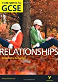 AQA Anthology: Relationships - York Notes for GCSE