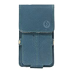 Jo Jo A6 G8 Series Leather Pouch Holster Case For Byond B54 Dark Blue