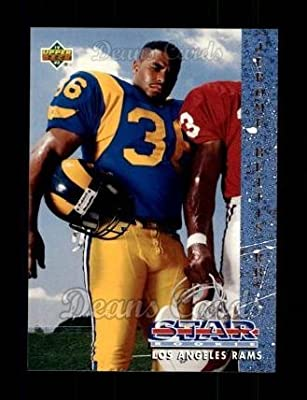 1993 Upper Deck # 20 Jerome Bettis Los Angeles Rams (Football Card) Dean's Cards 8 - NM/MT