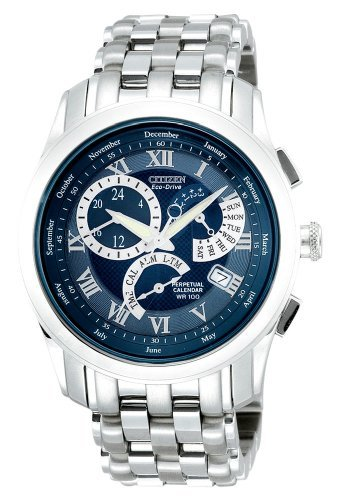 Citizen Men's Eco-Drive Calibre 8700 Perpetual Calendar Watch #BL8000-54L