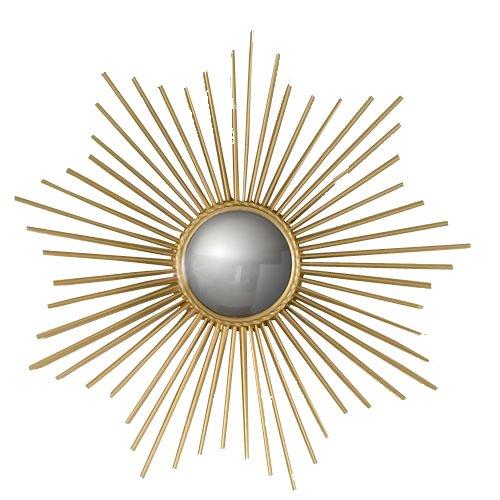 Global Views Sunburst Mirror Nickel: My Finessed Life: Home Decor Obsession: Starburst Mirrors