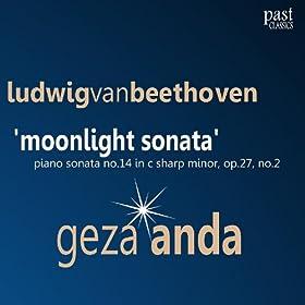Moonlight sonata adagio sostenuto beethoven