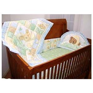 Boyds Bears Crib Bedding Set
