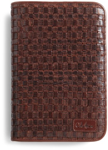 Cole Haan Hand-Woven Leather Kindle Cover  Hinge
