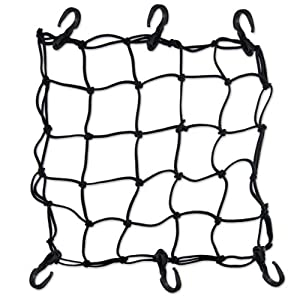 """Heavy-Duty 15"""" Cargo Net for Motorcycles, ATVs - Stretches to 30"""" from Boxer"""