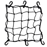 Heavy-Duty 15&quot; Cargo Net for Motorcycles, ATVs - Stretches to 30&quot;