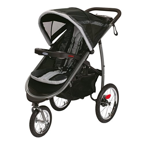 Graco Fastaction Fold Jogger Click Connect Stroller, Gotham