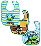 Nickelodeon 3 Piece Bib Set, Ninja Turtles