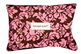 The Diaper Clutch Diaper and Wipe Case - Pink Damask