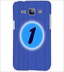 PrintDhaba Numerology Number 1 D-2556 Back Case Cover for SAMSUNG GALAXY J1 (Multi-Coloured)