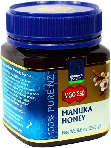 Manuka Health MGO 250+ Manuka Honey (15+), 250gm - 100% Pure New Zealand Honey