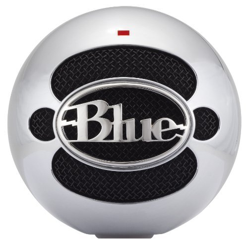 Blue Microphones Snowball Usb Microphone (Brushed Aluminum) Color: Brushed Aluminum
