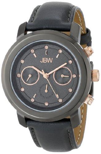 JBW  J6288D - Reloj de cuarzo para mujer, con correa de cuero, color gris
