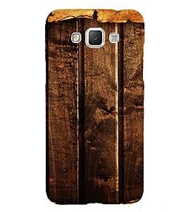 PrintVisa Dark Wooden Pattern 3D Hard Polycarbonate Designer Back Case Cover for Samsung Galaxy Grand MAX