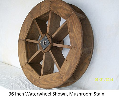 Amish-Made Decorative Waterwheel - 15