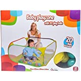 Five Star Baby Playzone With 20 Balls, Multi Color