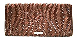 Cole Haan Heritage Weave Izzie Large Clutch $198 AUTHENTIC
