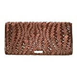 Cole Haan Heritage Weave Izzie Large Clutch $198 AUTHENTIC