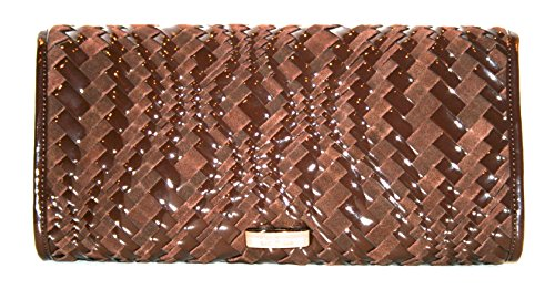 Cole Haan Heritage Weave Izzie Large Clutch $198 AUTHENTIC (Cole Haan Key compare prices)