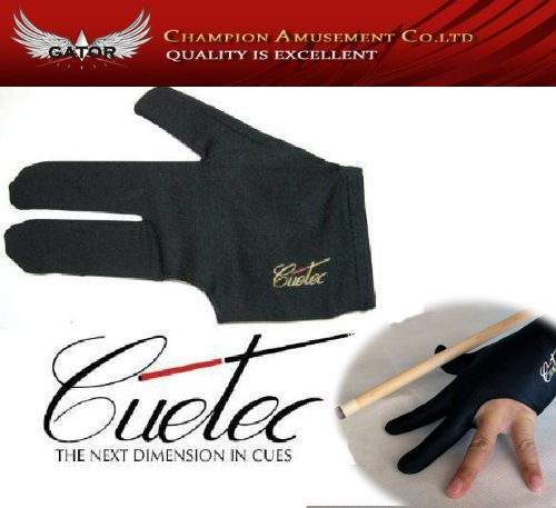 Find Discount Hot Sale- New Black Good Quality Cuetec Billiard Glove Pool Accessory Billiard Cue