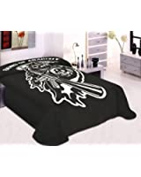 Sons Of Anarchy Reaper Blanket- Soft Plush Thick, Queen/Full Size Mink Blanket