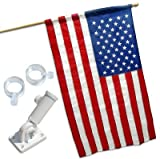 US Banner Flag Kit - US Made -2.5ft x 4ft Nylon by Valley Forge